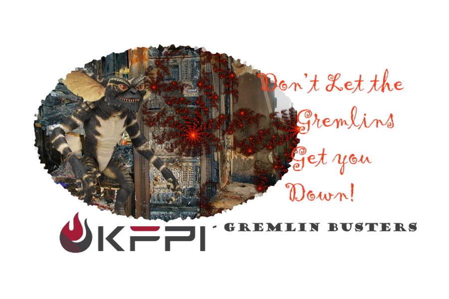 Don't let the gremlins get you down