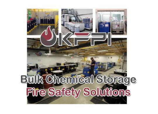 Bulk Chemical Storage Area